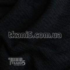 Fabric Jersey mohair strip small (black) 4132
