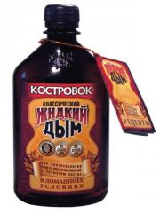 Liquid smoke for fish, marinades, meat products