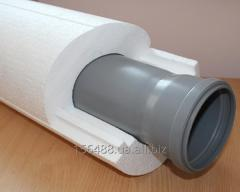 Inexpensive thermal insulation for pipes