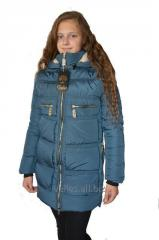 Winter women's jacket of park of youth
