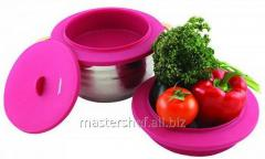 Double boiler of silicone 23,5*23,5*11 cm of