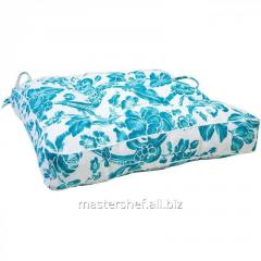 Pillow on a chair Allure blue of 40*40 cm