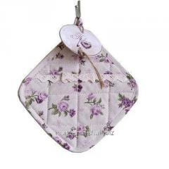 Tack of TM Provence lilac Rosec lace of 20х20 cm