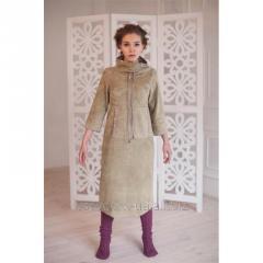 Design fleece dress