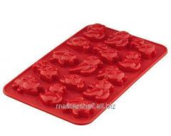 Form for chocolate silicone Granchio 88425