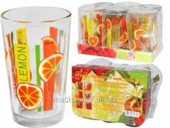 Set of glasses of 0,24 l of 6 pieces (1) Orange,