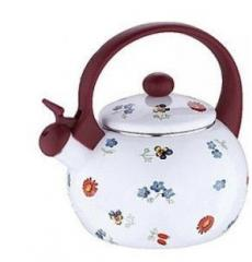 Teapot the enameled Wellberg 2,2l with a whistle