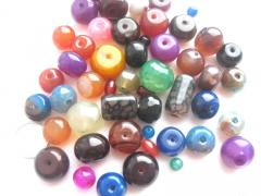 Beads are natural round, 1 kg