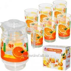 Set for juice of 7 elements (A jug of 1,77l +6