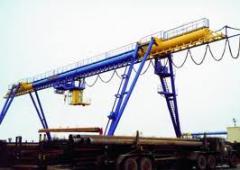 Frame cranes