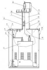 Complete transformer substations