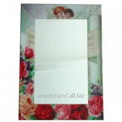 Зеркало с рамкой Ангелы 80х60х4,5 см, код: 740-001