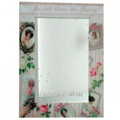 Зеркало с рамкой Винтаж 80х60х4,5 см, код: 740-002