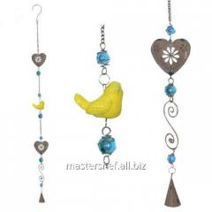 Suspended decor Birdie of 100 cm, code: 777-003