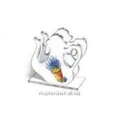 Lavender napkin holder, art. 249770585