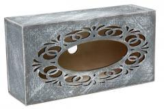 Napkin holder Haze, rectangular with a molding