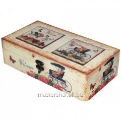 Carriage casket Bol. 34х19х10,5 cm, code: 740-029