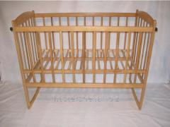 Bed a rocking chair with the lowering side, 120х60