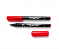 Marker permanent 1 mm of Centropen 2846 red bullet