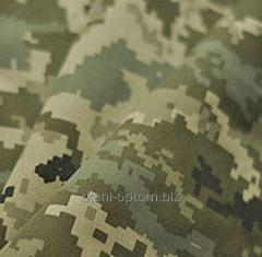 Pixel camouflage fabric
