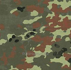 Camouflage knitted 15349,2 German, cloth