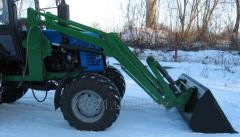 Wheel loader quick-detachable technical training