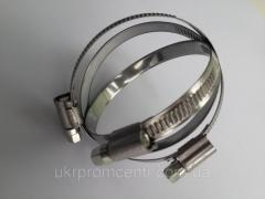 Worm clamp TORK stainless steel, Turkey