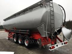THE SEMI-TRAILER THE TANK FOR TRANSPORTATION OF