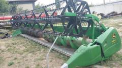 Harvester fleks 630 F on the combine John Deere