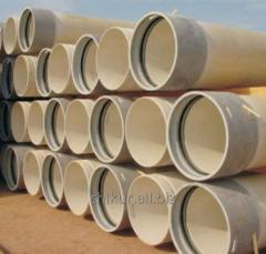 Equipment for production of fiberglass GRP pipes
