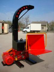 Рубальна машина DP 660 E 30 кВт, щеподробилка