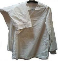 La ropa blanca de soldado caliente