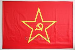 Flag with a star