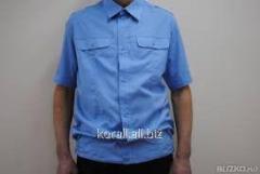 Рубашка короткий рукав, шведка