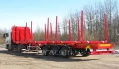 VARZ-NPL-2713 semi-trailer timber carrying vessel