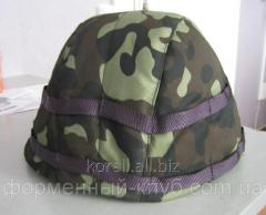 Cover on a helme