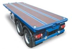 VARZ NPK-1406 semi-trailer container carrier