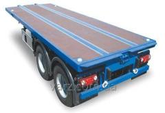 Semi-trailer container carrier (platform) of VARZ