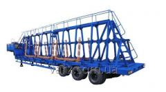VARZ-NPV 3811P semi-trailer concrete panel trailer