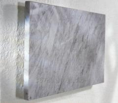 Marble heaters - it is economically expedient and