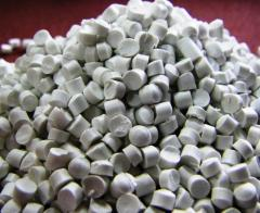 PVC granulate primary for corners and sanitary