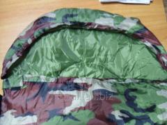 Sleeping bag khaki-20 degrees