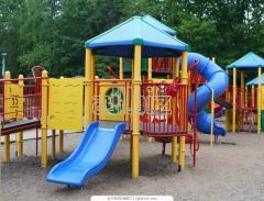 Playgrounds (swing, horizontal bars, Swedish