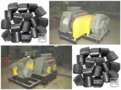 Roller brikettering press. Modell EMB-25M.