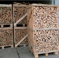 Firewood chipped strong breeds beech