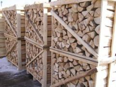 Firewood chipped strong breeds ash-tree