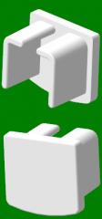 Cap aluminum eaves - a cube