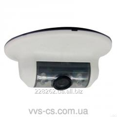 Ceiling video camera with IK illumination of