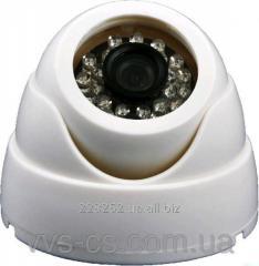 Video camera internal dome AHD DG-2124AHD White