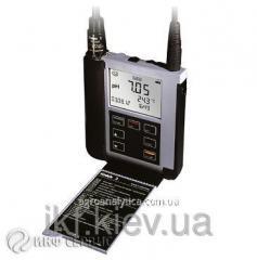 Portable ph-meter of Knick Portavo 902